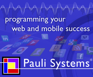 Logo of Pauli Systems - Programming Your Web and Mobile Success